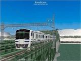 進撃の通勤電車40  JRE217系二階建て4