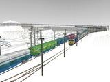 雪景色と貨物交換駅レイアウト55.jpg