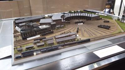 京都鉄道博物館172-梅小路転車台ジオラマ1