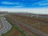 3欲張り新幹線レイアウト踏切道部分85