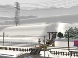 仮想津軽海峡線VRM3神社施工前4