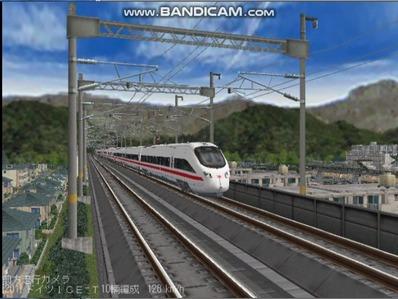 越河レイアウト東北新幹線ICI-T411-5