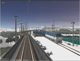雪景色完成その26見張線1