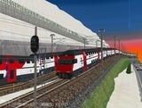 スイス国鉄IC2000二階建て客車13.