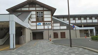 京都嵐山JR嵐山駅舎1