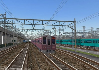 KATOレイアウトプラン6-9-阪急8000形4