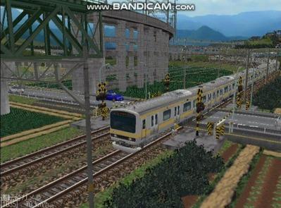 越河レイアウト電車シリーズ73-E231系総武線7