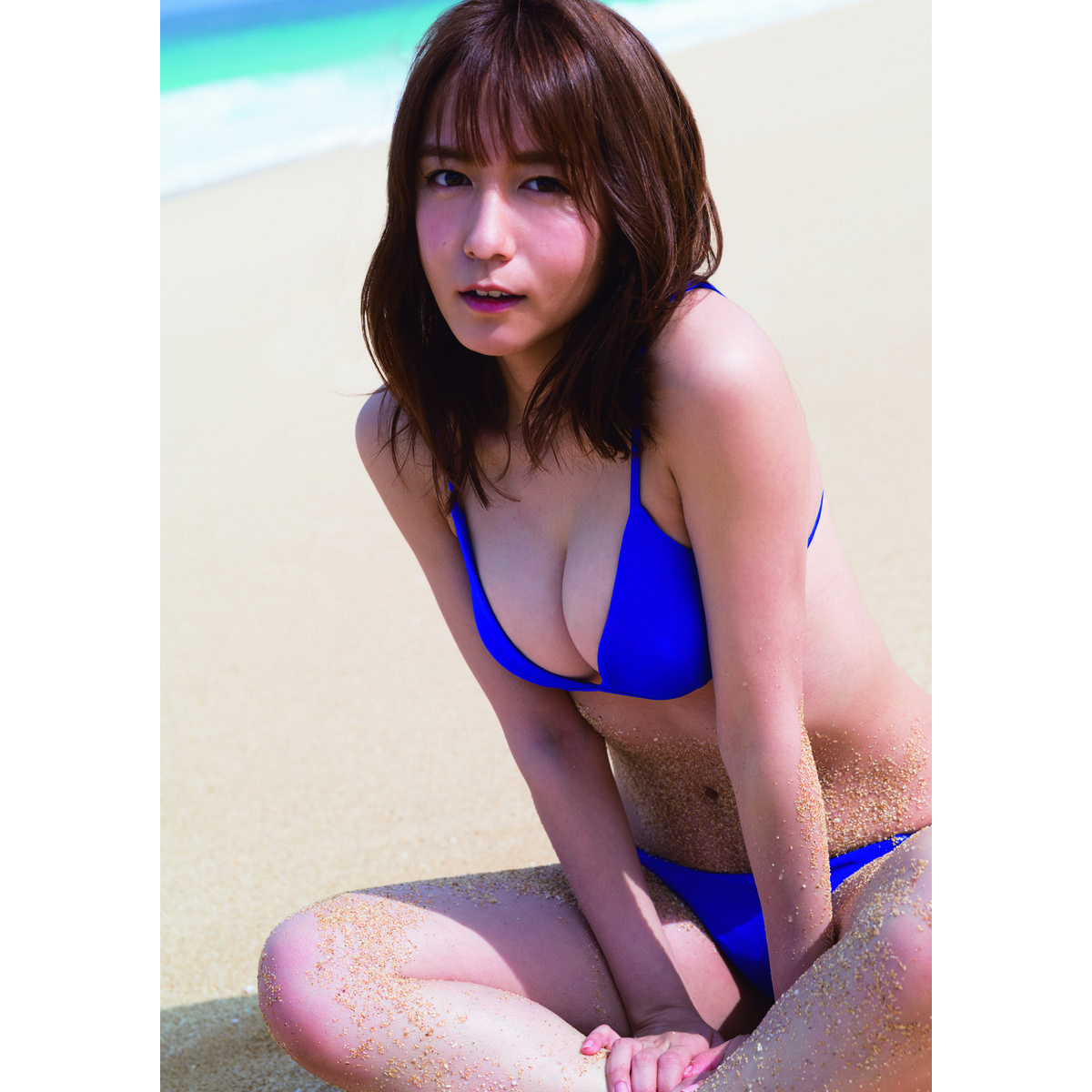 SKE48 「大場美奈」 1st写真集(セブンネット限定表紙Ver.)のサンプル画像