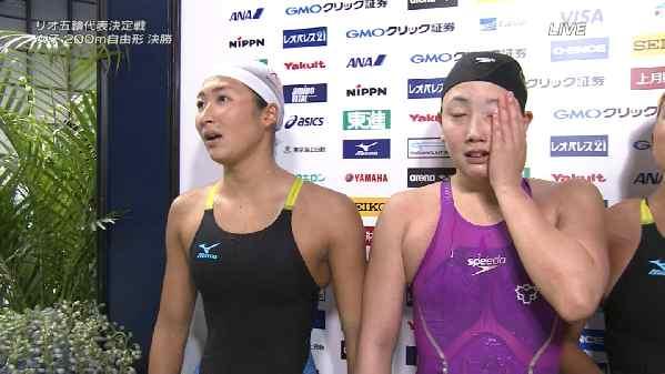 競泳・リオデジャネイロオリンピック代表決定戦~日本水泳選手権