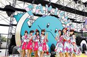 エビ中、夏恒例の野外コンサート 11・8新曲発売のサプライズ発表