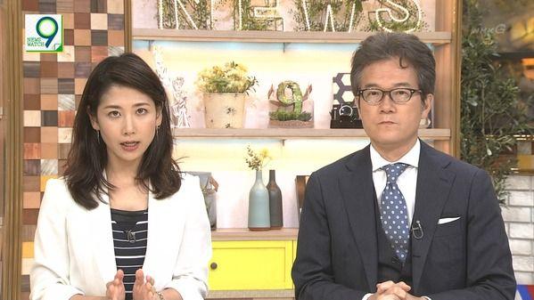 【画像】今日の桑子真帆さんと保里小百合さん 8.15