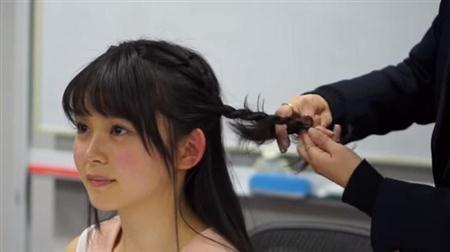 ■【りんくまスクール #7】高校でのヘアアレンジ(2)