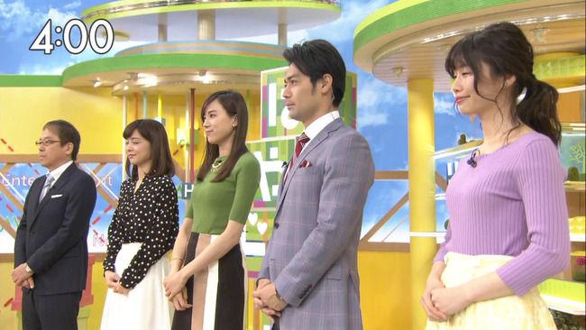 【画像】笹川友里アナのおっぱいクッキリ過ぎてエローい!