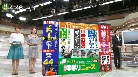上村彩子 Nスタ 16/05/23