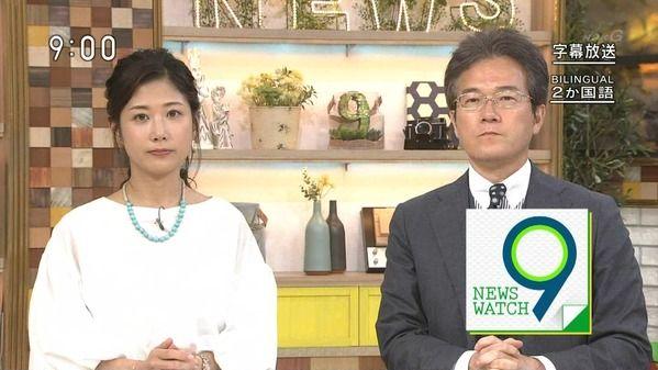 【画像】今日の桑子真帆さんと関口奈美さん 8.11