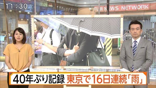 【画像】今日の永尾亜子さん 8.16