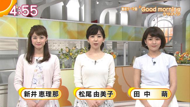 松尾由美子アナの上向きおっぱいがたまらんwwwwww