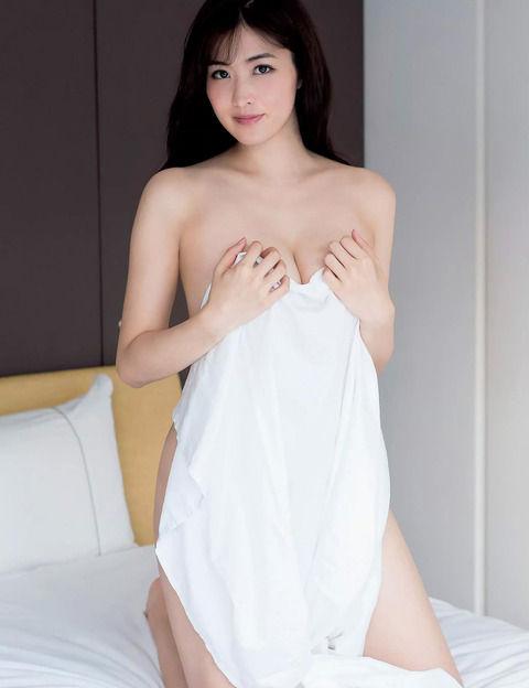 これがトップグラドルの裸体!Gカップグラドル 葉加瀬マイちゃんのセクシーグラビア画像!