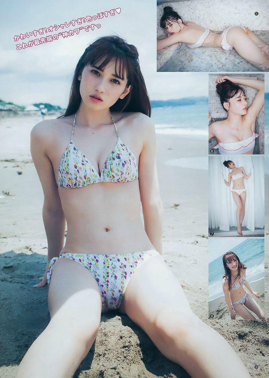 【グラビア】ジャスミンゆま、「日本一可愛い女子高生」特別賞が「ヤンジャン」グラビア再登場 ビキニ姿を披露