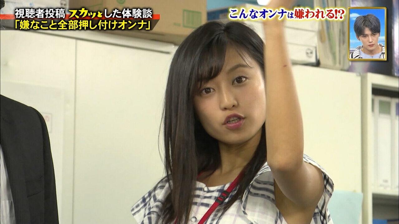 【速報】小島瑠璃子(こじるり)の腋マンコ、生々しくてエロいwwwwwwww