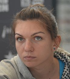 Simona_Halep_at_Madrid_Open_2014 (シモナ・ハレプ ルーマニア語