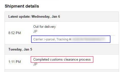 海外から通販している荷物の追跡ってどうやるの?