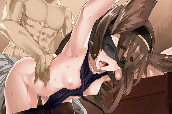 ロリ貧乳目隠しd (2)