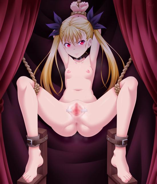 ロリ貧乳全裸縛り  c (1)
