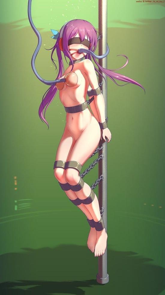 ロリ貧乳全裸縛り  h (3)