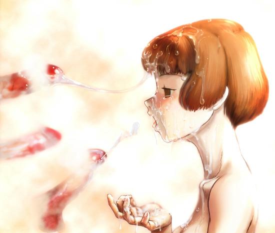 ロリ貧乳顔射 (15)