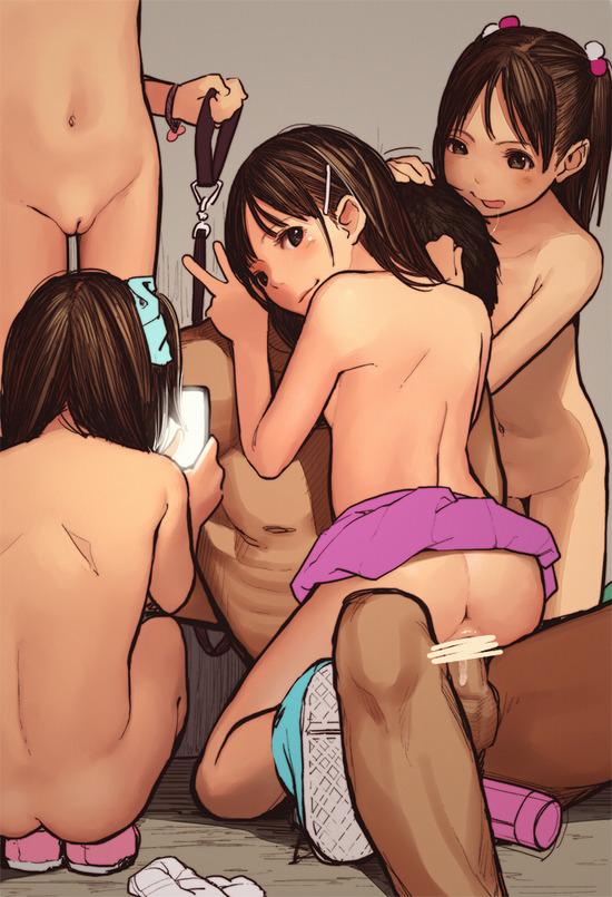 ロリ貧乳 (4)
