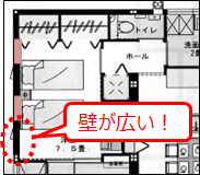 1階寝室間取り4