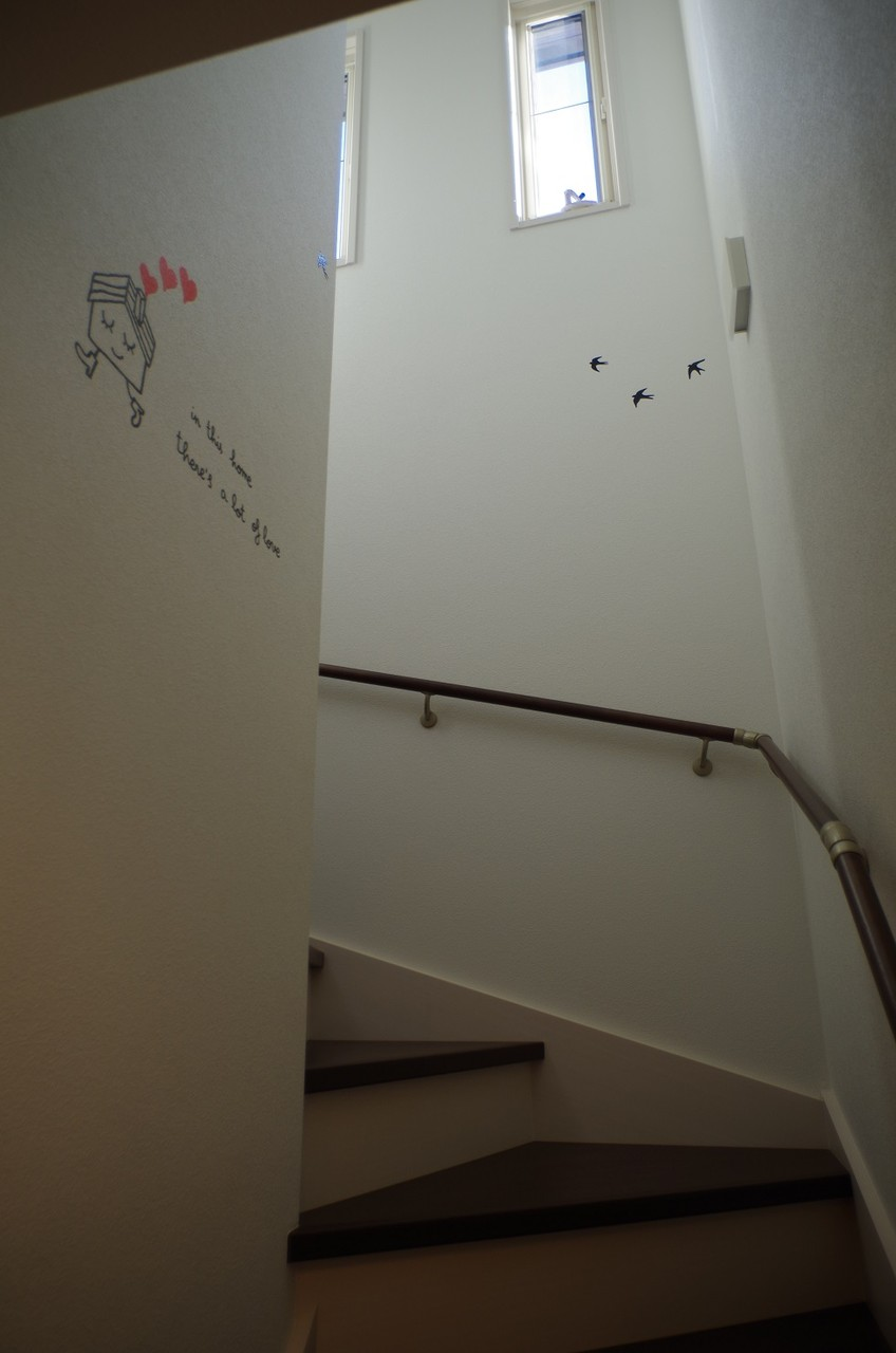 階段ウォールステッカー1