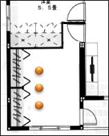 寝室照明計画1
