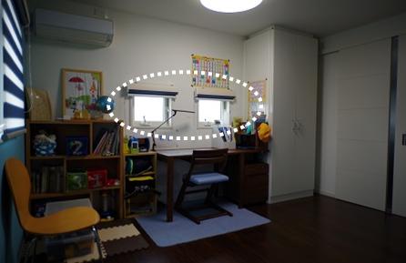 子供部屋の窓1