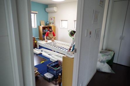 二段ベッド組み立て3
