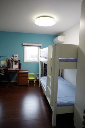 二段ベッド完成2