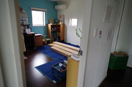 二段ベッド組み立て1
