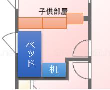 202101_個室化後子供部屋_次男2