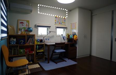 子供部屋の窓3