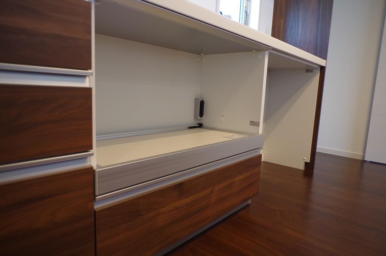 2階キッチンカップボード6