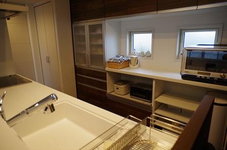 キッチン全体像入居後2