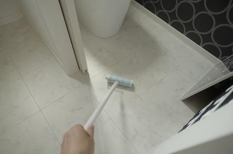 201807_洗面室床掃除10