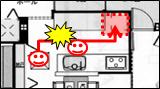 1階キッチン間取り6