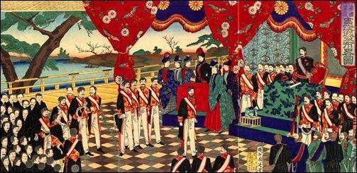 明治維新 憲法発布