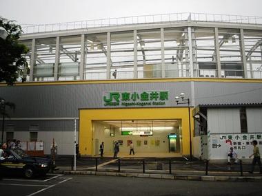 Higashikoganei-Station-2007-7-2south