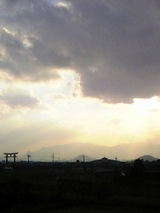 三輪山より