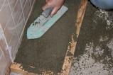 床タイル貼り4
