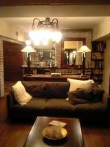 張り替え前のソファ