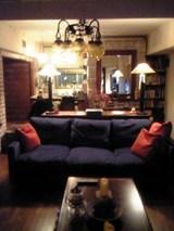 張り替え後のソファ